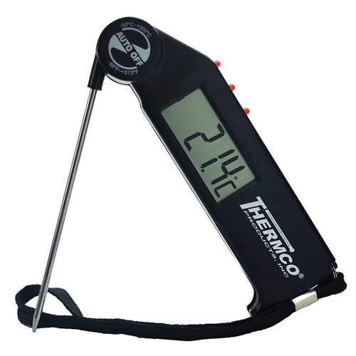 Buy Thermco Flip-Probe Digital Pocket Thermometer by n/a from a SDVOSB | Thermometers