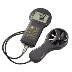 Precision Digital Anemometer Windmeter w/ Velocity & Thermometer for Thermometers by n/a | Medical Supplies