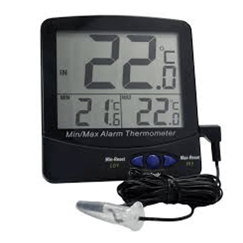 Buy Large Triple Digit Display Screen Thermometer by n/a from a SDVOSB | Thermometers