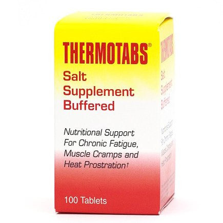 Buy Thermotabs Fatigue & Cramp Buffered Salt Tablets online used to treat Vitamins, Minerals & Supplements - Medical Conditions