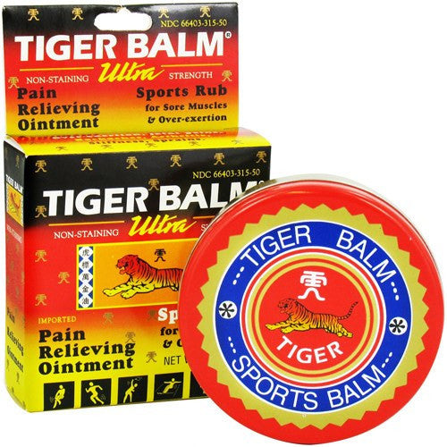Tiger Balm Ultra Strength Pain Relieving Ointment 1.7oz
