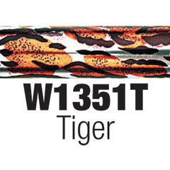 [price] Tiger Pattern Designer Walking Cane used for Canes made by Essential [sku]