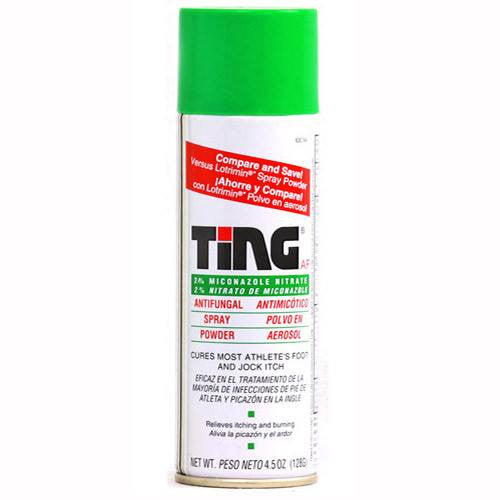 Ting Antifungal Spray Powder 90 gram for Antifungal Medications by Insight Pharmaceuticals LLC | Medical Supplies