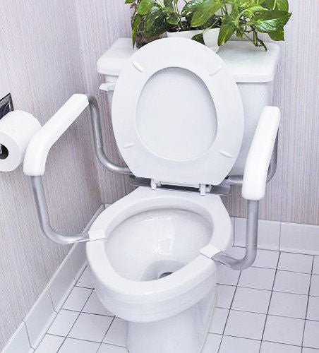 Mabis Toilet Safety Arm Support Rail - Toilet Safety Frames - Mountainside Medical Equipment