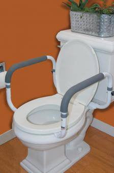 Buy Carex Toilet Support Rail online used to treat Toilet Safety Frames - Medical Conditions