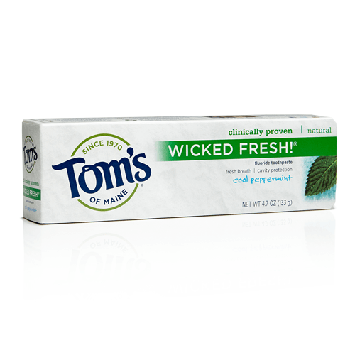 Tom's of Maine Wicked Fresh Fluoride Toothpaste Spearmint