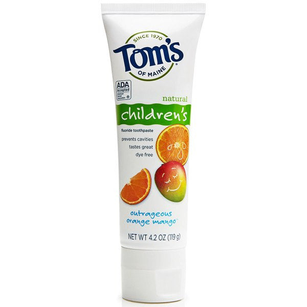 Tom's of Maine Children's Natural Fluoride Toothpaste for Toothpaste by Tom