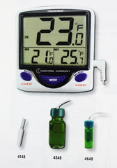Buy Traceable Jumbo Refrigerator / Freezer Thermometer by Control Company | Home Medical Supplies Online
