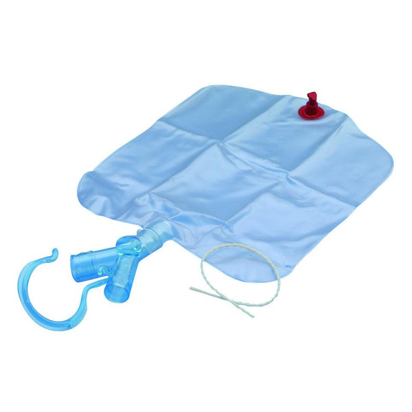 Airlife Trach Drain Container with Y Site and Bottom Drainage Port