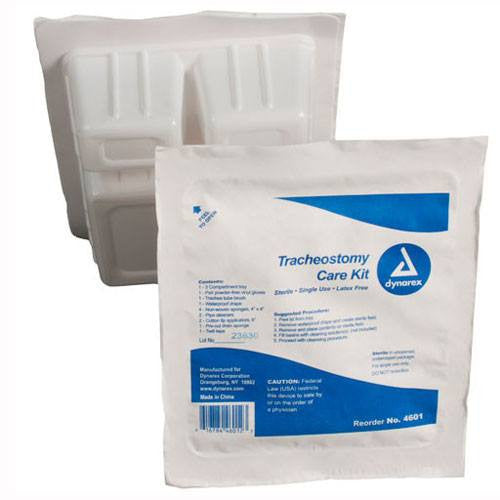 Tracheostomy Care Cleaning Kit with Supplies, Sterile