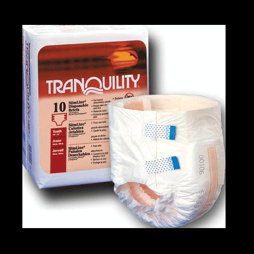 Buy Slimline Disposable Adult Briefs by Tranquility | SDVOSB - Mountainside Medical Equipment