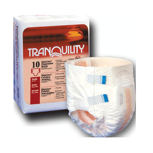 Slimline Disposable Adult Briefs - Incontinence - Mountainside Medical Equipment