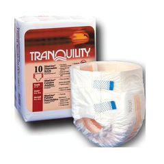 Buy Slimline Disposable Adult Briefs used for Incontinence by Tranquility