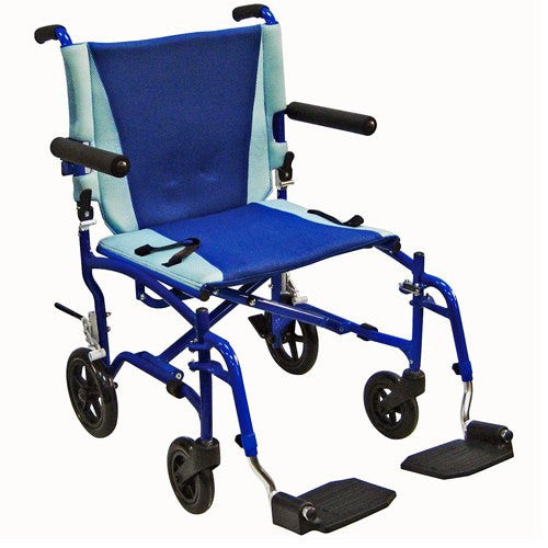 TranSport Aluminum Transport Chair - Wheelchairs - Mountainside Medical Equipment