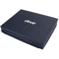 Buy Tri-Fold Bedside Mat with Non Skid Bottom by Drive Medical | Fall Prevention