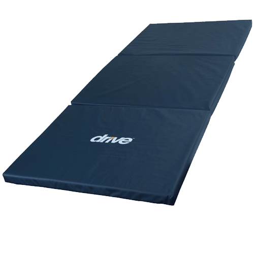 Tri-Fold Bedside Mat with Non Skid Bottom