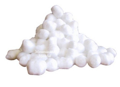 Buy QC Cotton Balls, Triple Size (100/Bag) by Quality Choice from a SDVOSB | Public School Nursing office