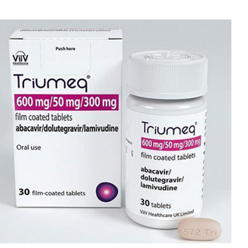 Buy Triumeq HIV-1 Treatment Tablets online used to treat HIV Treatment - Medical Conditions
