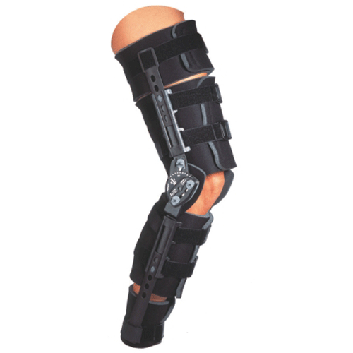 Donjoy Telescoping Trom Leg Brace - n/a - Mountainside Medical Equipment