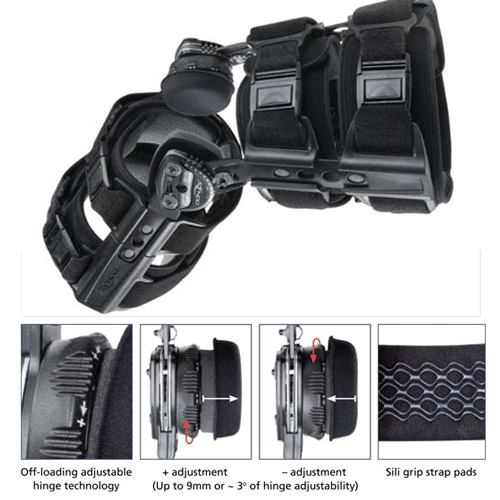 Buy TROM Adjuster Knee Brace by DonJoy | SDVOSB - Mountainside Medical Equipment