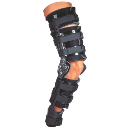 Donjoy Telescoping Bilateral Trom Leg Brace with Foam Shells - n/a - Mountainside Medical Equipment