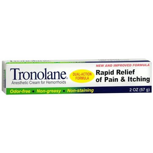 Buy Tronolane Anesthetic Hemorrhoid Cream 1 oz online used to treat Hemorrhoid Relief - Medical Conditions