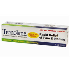 Buy Tronolane Anesthetic Hemorrhoid Cream 1 oz used for Creams & Skin Barriers by Rochester Drug