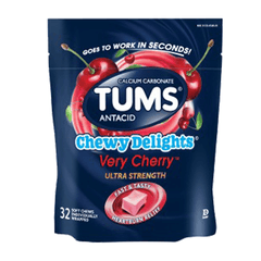 Buy Tums Chewy Delights Chewable Antacid Relief, Ultra Strength online used to treat Antacid - Medical Conditions