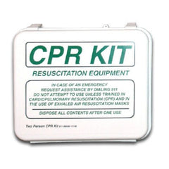 Buy Two Person CPR Kit with Supplies by FieldTex from a SDVOSB | CPR Masks & Supplies
