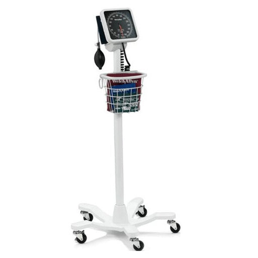 Tycos 767 Mobile Aneroid with Durable One-Piece Adult Cuff - Welch Allyn Products - Mountainside Medical Equipment