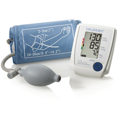 Buy Advanced Manual Blood Pressure Monitor with Digital Screen by LifeSource wholesale bulk | Blood Pressure Monitors
