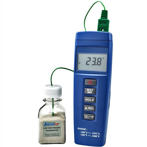 Ultra-Low Temperature Digital Freezer Thermometer - Refrigerator Thermometers - Mountainside Medical Equipment