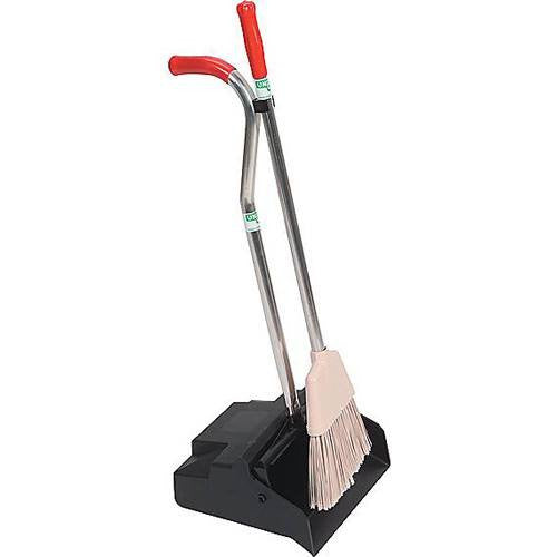 Unger Ergonomic Dustpan and Broom for Cleaning & Maintenance by n/a | Medical Supplies
