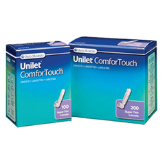 Buy Unilet Comfor Touch Super Thin Lancets 30 Gauge by Owen Mumford | SDVOSB - Mountainside Medical Equipment