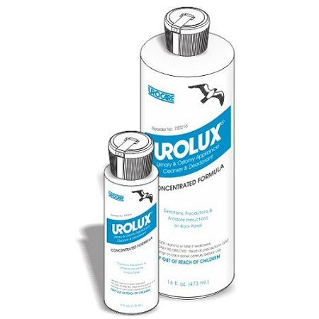 Buy Urolux Ostomy Appliance Deodorant Cleaner 4oz by Urocare | Home Medical Supplies Online