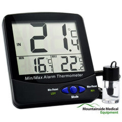 Vaccine Bottle Refrigerator Thermometer with Large Triple Digital Display for Refrigerator Thermometers by Mountainside Medical Equipment | Medical Supplies
