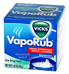 Buy Vicks VapoRub Ointment by Procter & Gamble from a SDVOSB | Cold Medicine