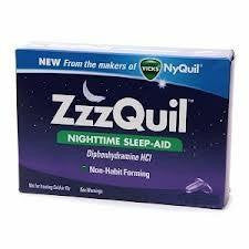 Buy Vicks ZZZquil Sleep Aid 24 Liquid Caplets by Procter & Gamble from a SDVOSB | Insomnia