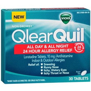 Vicks QlearQuil Allergy 24 Hour Relief