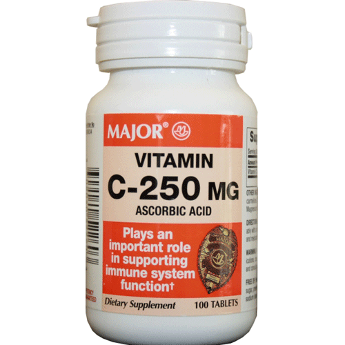 Buy Vitamin C Supplement 100 Tablets online used to treat Over the Counter Drugs - Medical Conditions