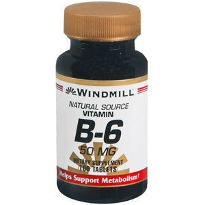 Vitamin B-6 Supplement 50 mg