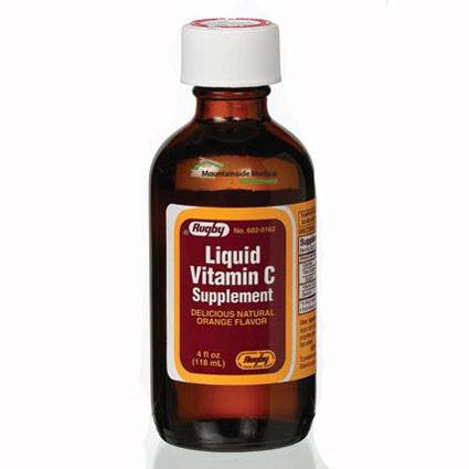 Vitamin C 500 mg Liquid Syrup 4 oz