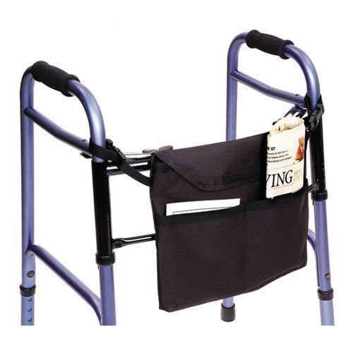 Walker Bag with 3 Pockets for Rollators and Walkers by Essential | Medical Supplies