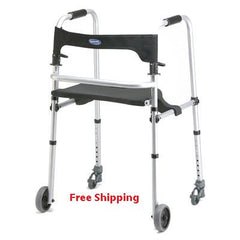 Buy WalkLite Walker -Adult to Tall Adult People by Invacare | Home Medical Supplies Online