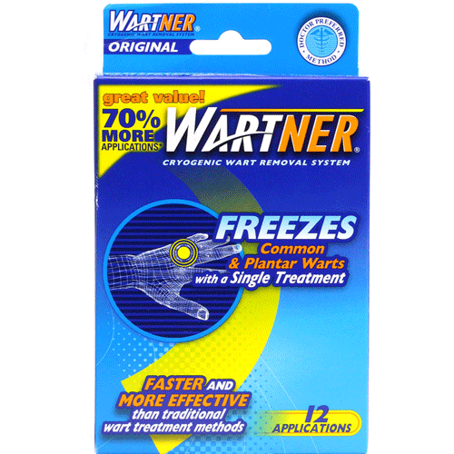 Wartner Original Cryogenic Wart Removal System, 12 Applications