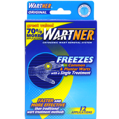 Wartner Original Cryogenic Wart Removal System, 12 Applications for Plantar Warts by MedTech | Medical Supplies