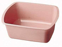 Buy Medical Wash Basin, Rectangular Mauve 7.2 Quart by Dynarex from a SDVOSB | Patient Cleansing