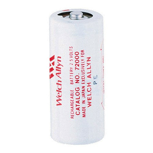 Buy Battery, 2.5V, Nickel-cadmium, Rechargeable #72000 used for Power Sources by Welch Allyn