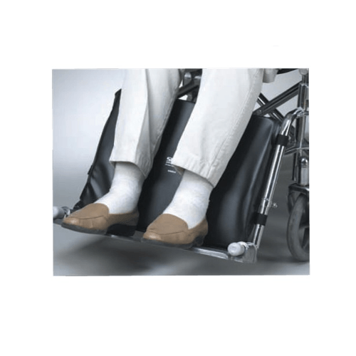Wheelchair Leg Pad For Footrests - Heavy Duty (Bariatric) Wheelchairs - Mountainside Medical Equipment