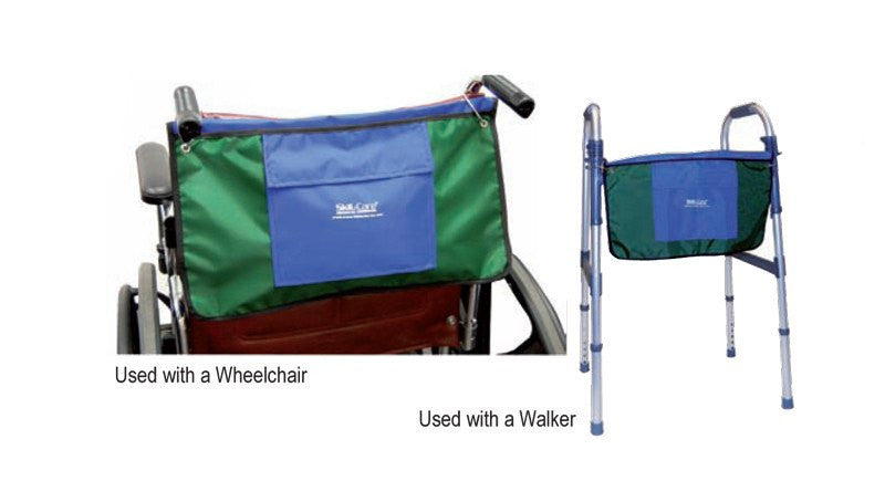 Wheelchair Travel Storage Bag with Multiple Pockets for Wheelchair Accessories by Skil-Care Corporation | Medical Supplies